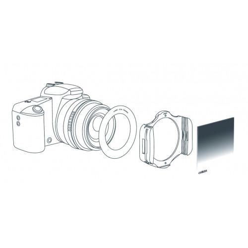 Cokin M filtre P153 Gris neutre Medium (ND4)