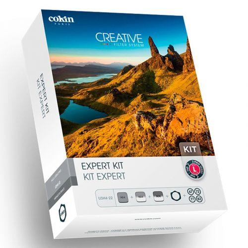 Cokin Kit porte-filtres Z séries + 3 filtres +(ND 153, GND 121, 121M) + 4 Bagues d'adaptations