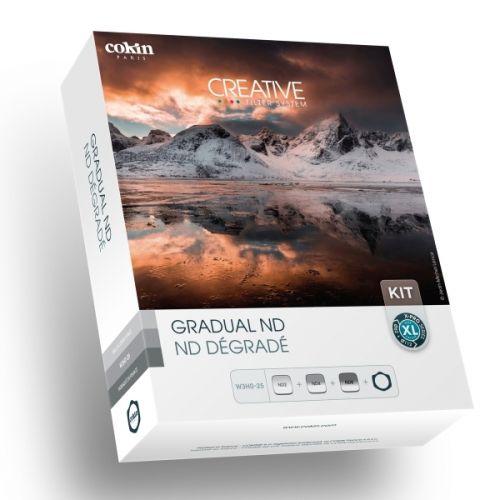 Cokin kit de porte-filtres série X-Pro + 3 filtres GND (121L, 121M, 121S) système 130 mm