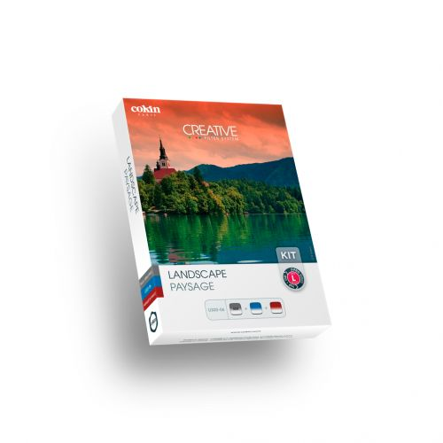 Cokin Kit de 3x filtres à densité neutre dégradé GND Paysages (121S, Blue 123S, Tobacco125S) système 100 mm
