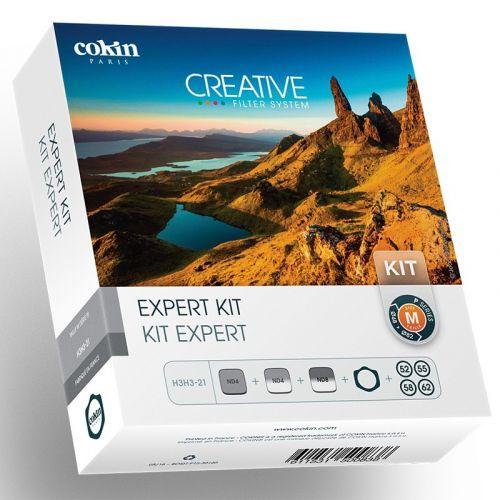 Cokin kit de porte-filtres séries P + 2x filtres GND + 1 filtre ND + 4x Bague d'adaptations (ND 153, GND 121, 121M)