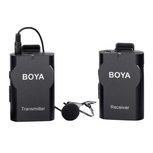 Boya Microphone Wireless BY-WM4 for DSLR and Smartphone