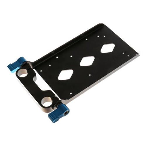 Rolux Plateau adaptateur RL-VF pour rigs avec diamètre de 15 mm