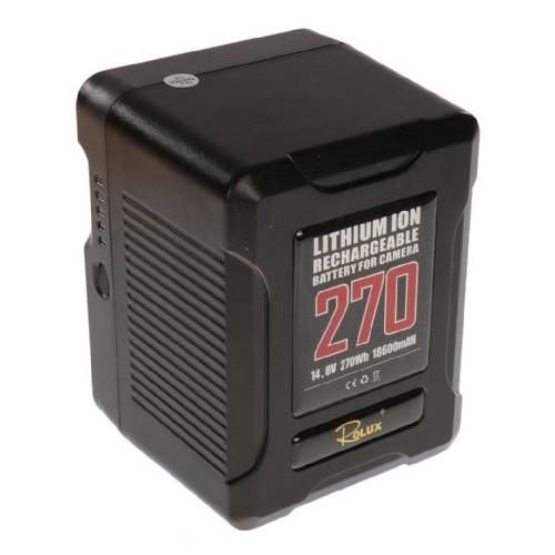 Rolux Smart Batterie V-Mount YC-270S 270Wh 14.8V18600mAh