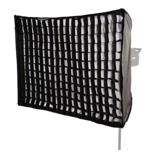 StudioKing Boîte à lumière pliable + grille nid d'abeille 60x90 cm