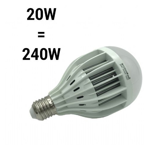 StudioKing Ampoule LED Daylight 20W E27 LED20