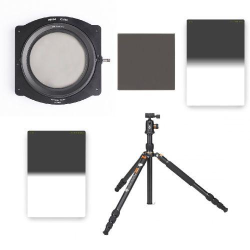 Pack Trépied alu + rotule Genesis A3 + NISI V5 PRO + 2 filtres GND/ND Lee Filters