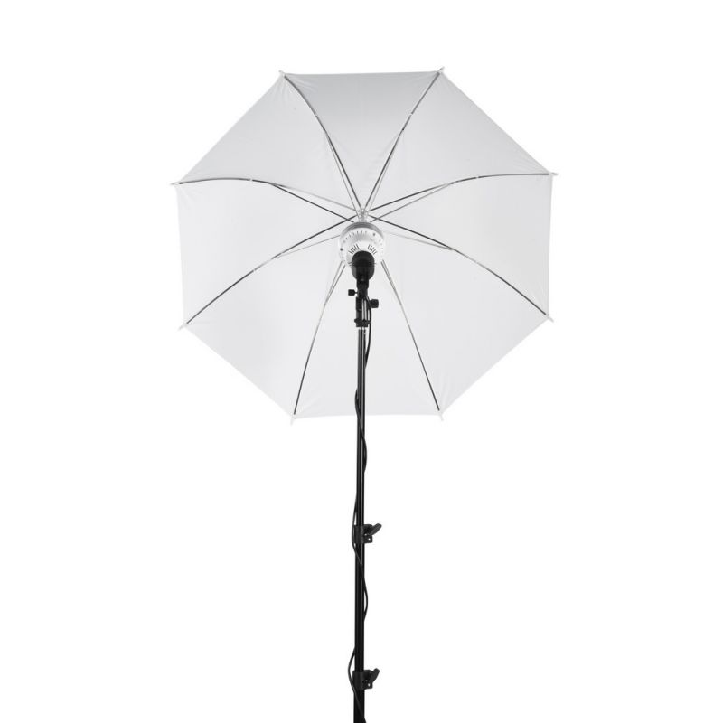 Quadralite LEDTuber kit d'éclairage 2 x ampoules LED avec pieds + diffuseurs parapluies