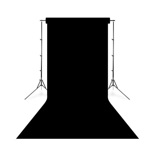 Savage Widetone Fond de studio papier Noir 2,18 cm x 11 m