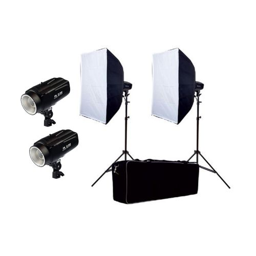 Falcon Eyes Kit complet flash de studio SSK-2200D avec sac de transport