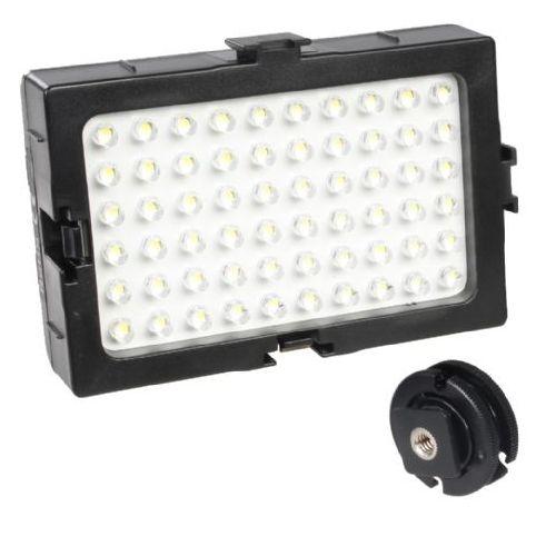 Falcon Eyes kit 7W panneau LED DV-60LT alimentation avec piles