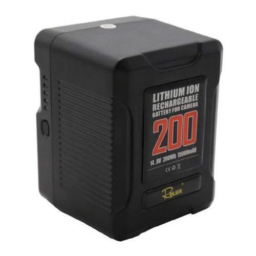 Rolux Smart batterie V-Mount YC-200S 200Wh 14.8V 15000mAh
