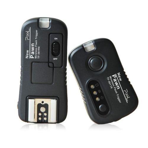 Pixel kit déclencheur sans fil avec Pawn TF-361 récepteur pour Canon
