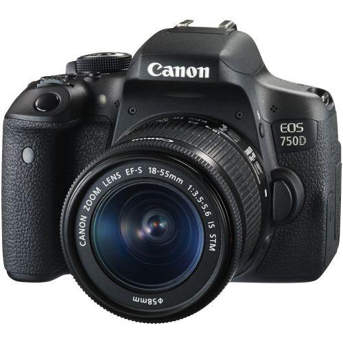 CANON EOS 750 et objectif D-18/55 IS STM