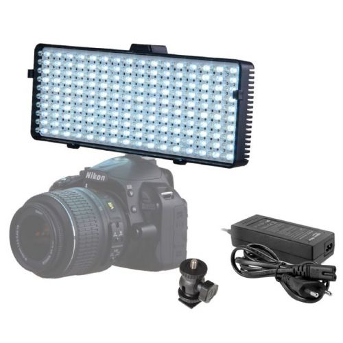 Falcon Eyes Lampe LED DV-320VC alim. 230V