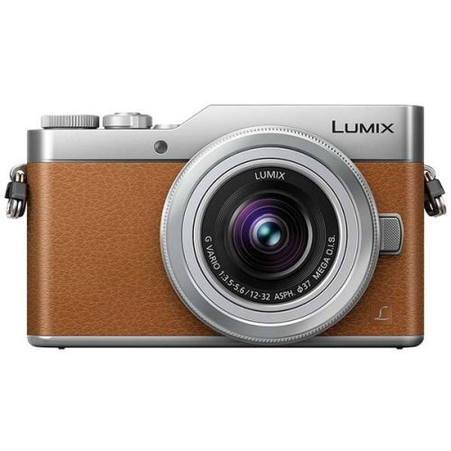 Panasonic Lumix DC-GX800 marron + objectif 12-32 mm