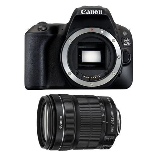 Canon EOS 200D + objectif 18-135 mm IS STM