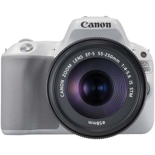Canon EOS 200D + objectif 18-55 mm IS STM blanc