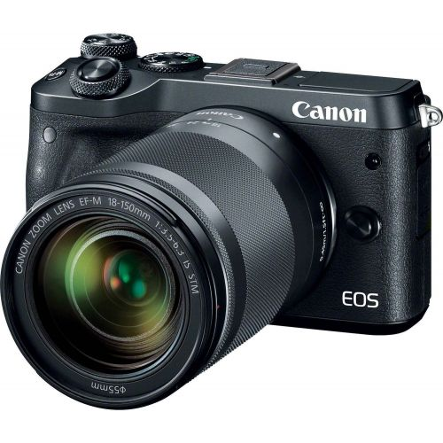 Canon EOS M6 + objectif 18-150 mm