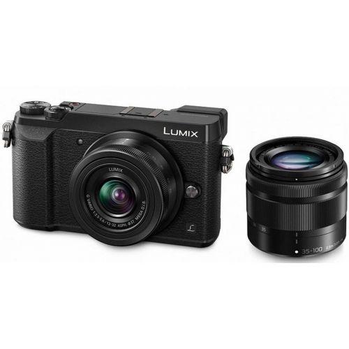 Panasonic Lumix GX80 noir + objectif 12-32 mm + objectif 35-100 mm