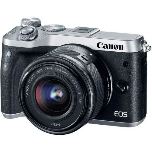 Canon EOS M6 + objectif 15-45 mm IS STM