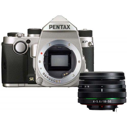 Pentax KP argent + objectif DA 18-50 mm