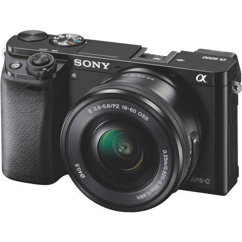 Sony alpha a6000 noir + objectif 16-50 mm
