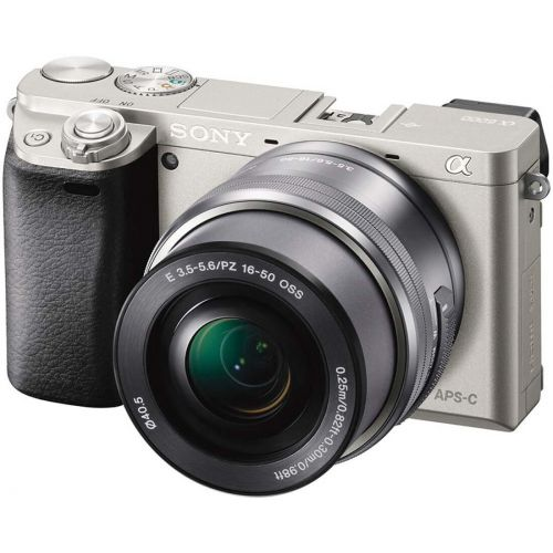 Sony alpha a6000 argent + objectif 16-50 mm