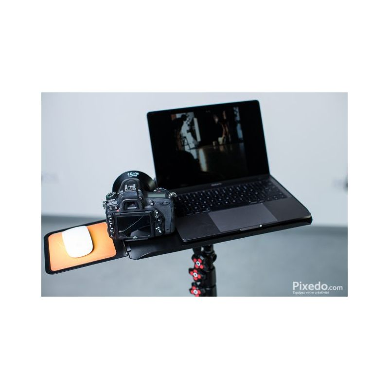 StudioKing Plateau tethering pour ordinateur portable MC-1020 avec adaptateur spigot