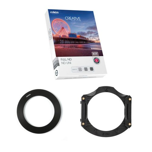 Cokin Kit 3x filtres ND + porte-filtres (système 100 mm) + bague 82 mm