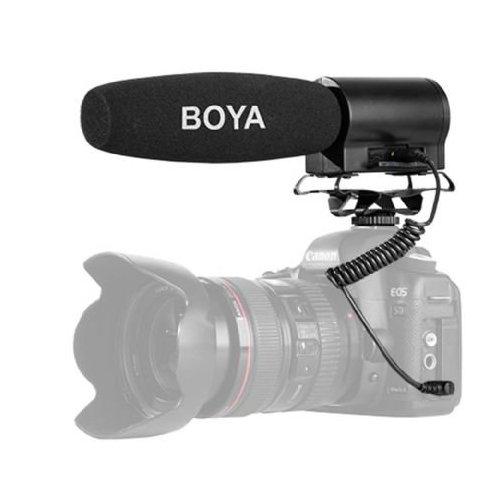 Boya Micro à condensateur mini BY-DMR7 avec enregistreur