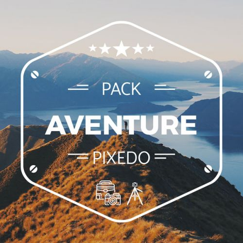 Pack Adventure (mini trépied + rotule + porte-filtres + 3 x filtres GND)