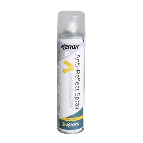 Kenro spray anti-reflet pour surfaces blanches
