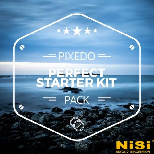 Nisi perfect starter kit (V5 pro + filtre IR ND 8 + filtre GND4 100 mm)