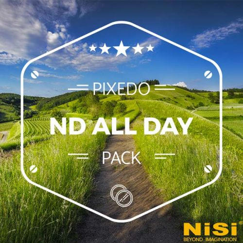 Nisi Kit ND All day (filtre ND32000 + filtre ND64) 100 mm