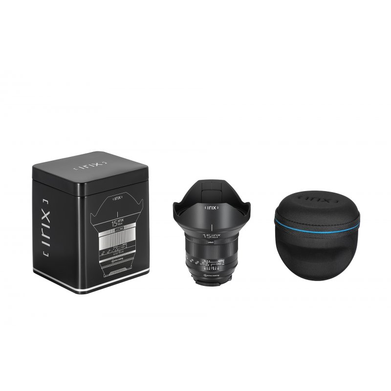 Irix Blackstone objectif 15 mm f/2.4 pour Pentax K