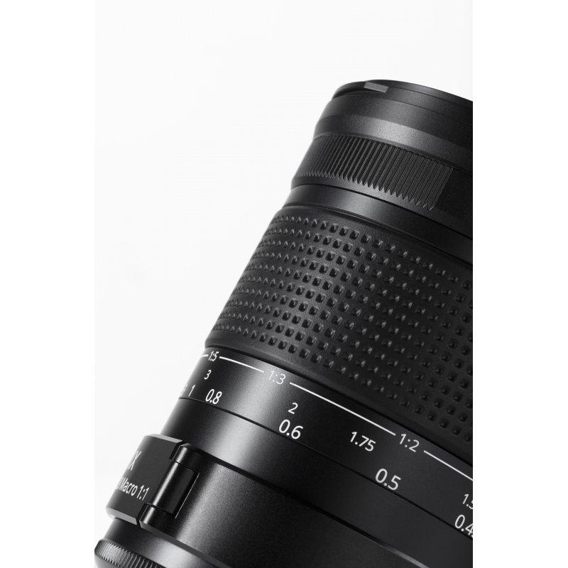 Irix Dragonfly objectif macro 150 mm Macro 1:1 f/2,8 pour Pentax K + étui + pare-soleil + bouchons + fixation
