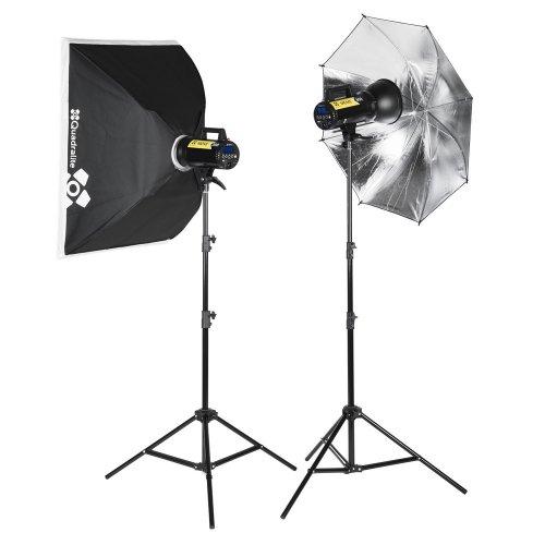 Kit Quadralite Move X 300 flash monobloc