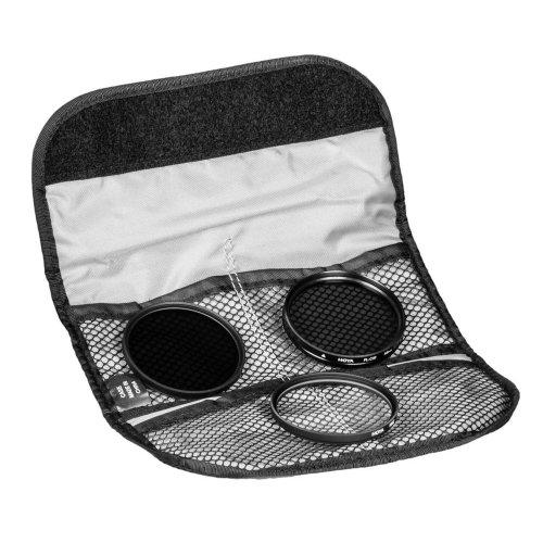 Hoya Kit de filtres Digital 58 mm - filtre UV(C) + polarisant CIRCULAR PL (PHL) + filtre ND8