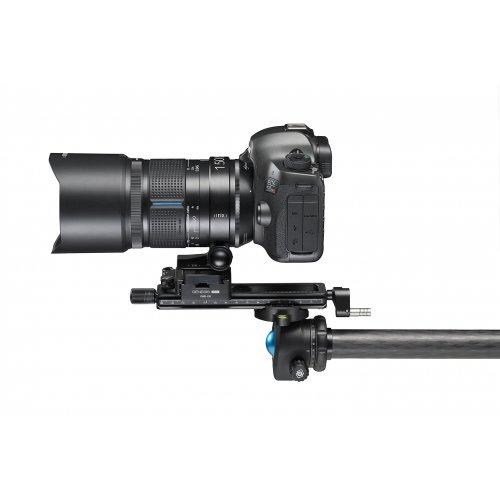 Kit macrophotographie : objectif macro Irix 150 mm 1:1 f/2,8 Dragonfly Canon EF + rail + plateau