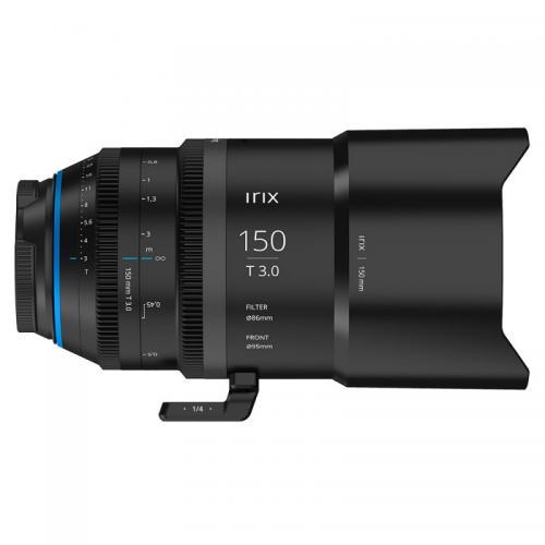 Objectif vidéo Irix Cine 150 mm T3.0  Macro 1:1 pour MFT - métrique
