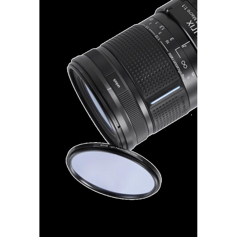 Irix Nightscape kit pour Nikon  - Blackstone objectif 15 mm f/2.4 + filtre Irix Edge anti-pollution lumineuse 95 mm
