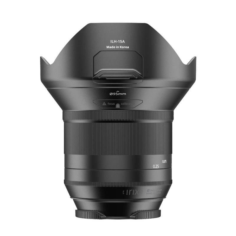 Irix Nightscape kit pour Pentax  - Blackstone objectif 15 mm f/2.4 + filtre Irix Edge anti-pollution lumineuse 95 mm