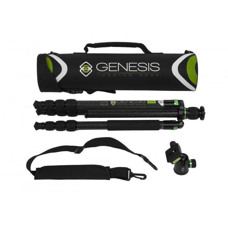 Genesis Base C3 Trépied + rotule BH-34 kit (vert)