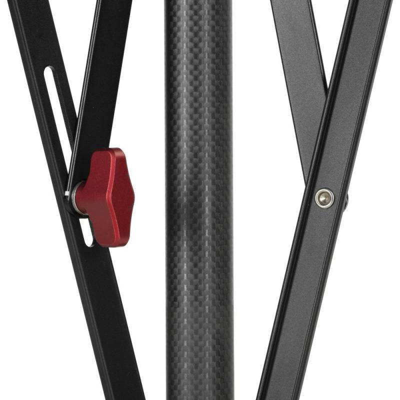 Quadralite Verso 200 CF Stand Pied d'éclairage en fibre de carbone