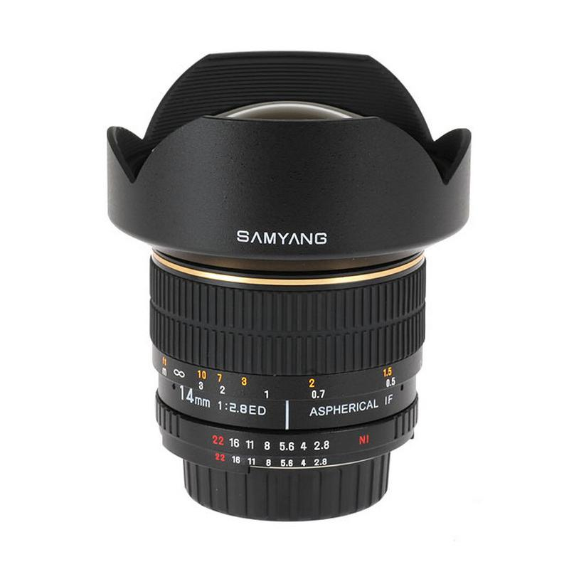 Samyang objectif 14mm F2.8 pour Olympus FT