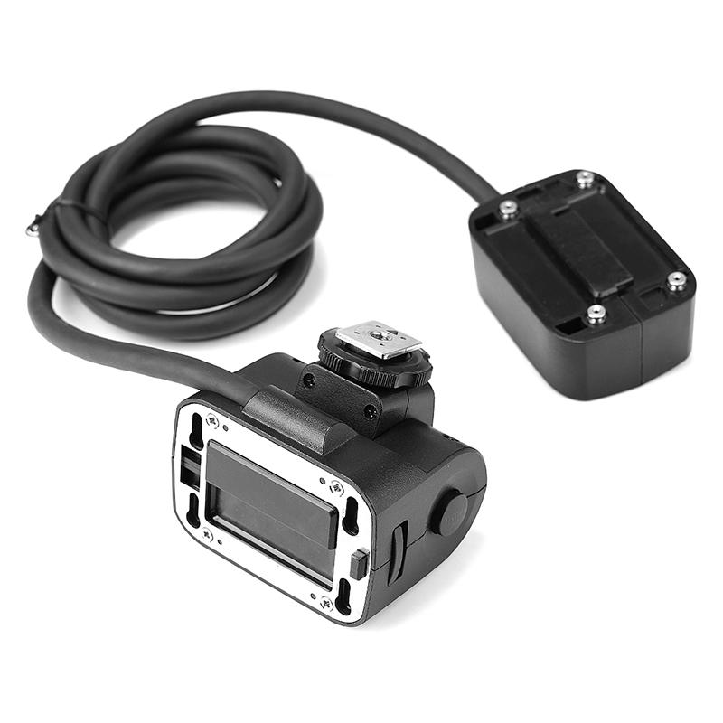 Quadralite Reporter 200 TTL Extension Flash Head extenseur pour tête flash Reporter 200 TTL