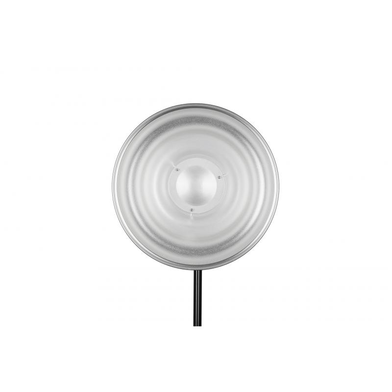 Bol beauté ondulé argenté 55 cm Quadralite Wave Beauty Dish Silver 55 cm