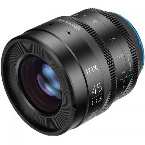 Objectif vidéo Irix Cine 45mm T1.5 pour Canon EF (métrique)