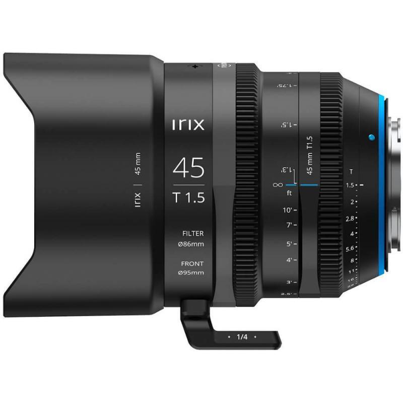 Objectif vidéo Irix Cine 45mm T1.5 pour Arri PL-mount (métrique)